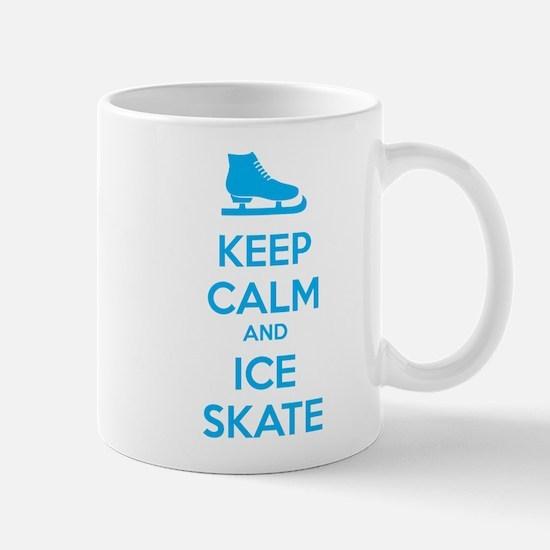 Keep calm and ice skate Mug