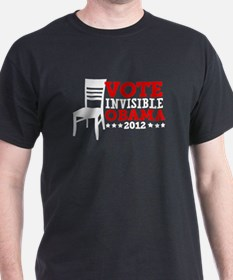Vote Invisible Obama 2012 Chair T-Shirt