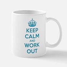 Keep calm and work out Mug