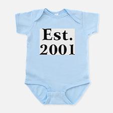 Est. 2001 Infant Creeper