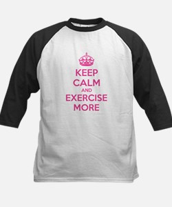 Keep calm and exercise more Tee