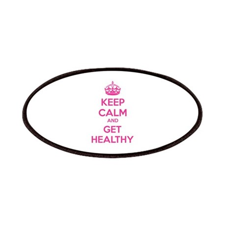 Keep calm and get healthy Patches