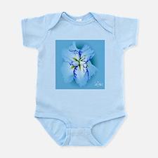 Iris in Blue Mist Infant Bodysuit
