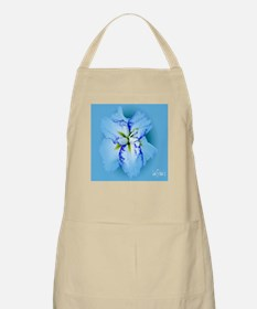 Iris in Blue Mist Apron