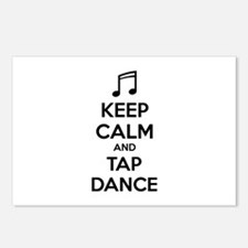 Keep calm and tap dance Postcards (Package of 8)