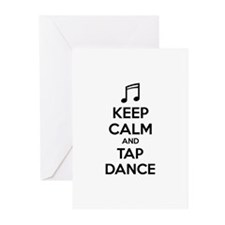 Keep calm and tap dance Greeting Cards (Pk of 10)