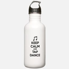 Keep calm and tap dance Water Bottle