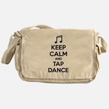 Keep calm and tap dance Messenger Bag