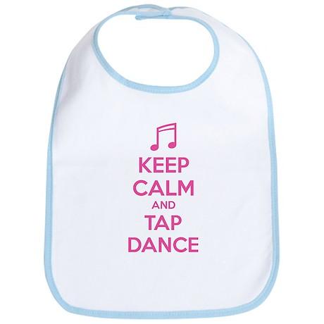 Keep calm and tap dance Bib
