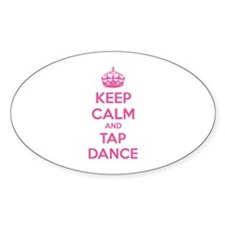 Keep calm and tap dance Decal