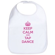 Keep calm and tap dance Bib