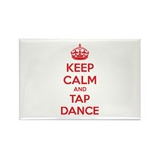 Keep calm and tap dance Rectangle Magnet (10 pack)