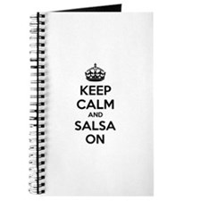 Keep calm and salsa on Journal