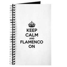 Keep calm and flamenco on Journal