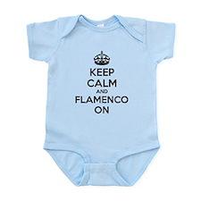 Keep calm and flamenco on Infant Bodysuit