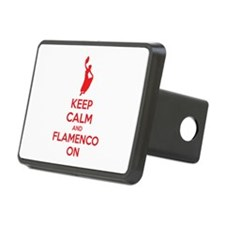 Keep calm and flamenco on Hitch Cover