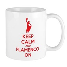 Keep calm and flamenco on Mug