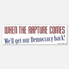 Get Our Democracy Back Sticker (Bumper)