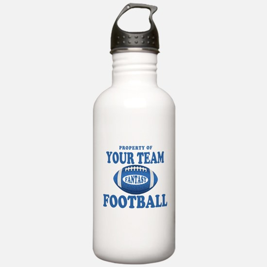 Property of Fantasy Your Team Blue Water Bottle