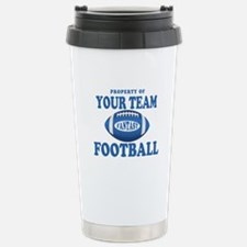 Property of Fantasy Your Team Blue Travel Mug