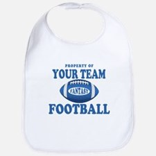 Property of Fantasy Your Team Blue Bib