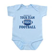 Property of Fantasy Your Team Blue Infant Bodysuit