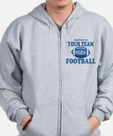 Property of Fantasy Your Team Blue Zip Hoodie