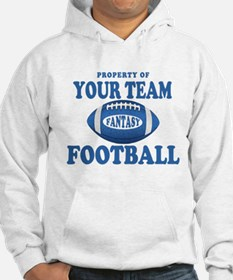 Property of Fantasy Your Team Blue Hoodie
