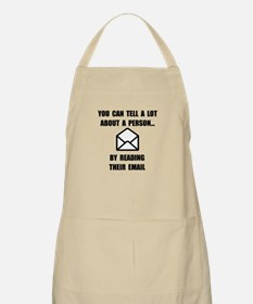 Read Their Email Apron
