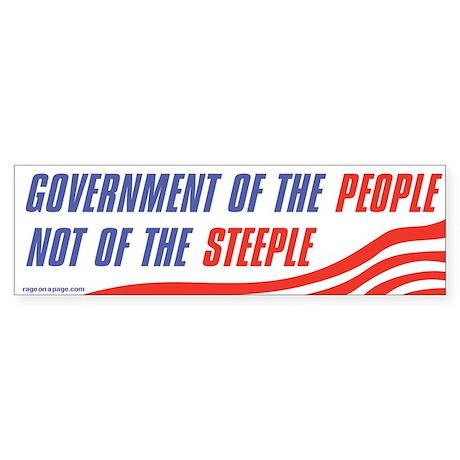 Govt of the People Sticker (Bumper 10 pk)