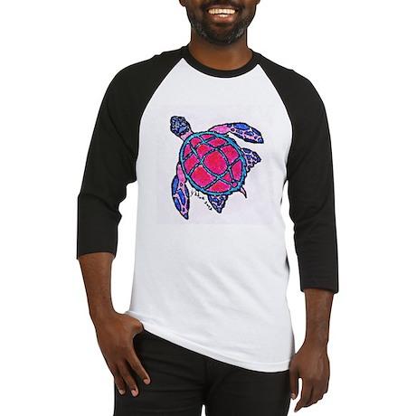 Spicy Sea Turtle Baseball Jersey