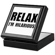 Relax Hilarious Keepsake Box