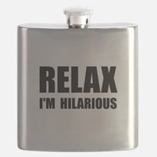Relax Hilarious Flask
