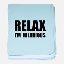 Relax Hilarious baby blanket