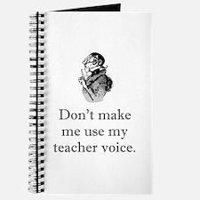 Teacher Voice Journal