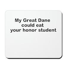 GreatDane eat Mousepad