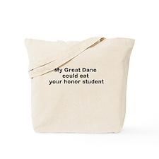 GreatDane eat Tote Bag