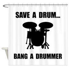 Save A Drum Shower Curtain