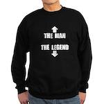 The Man Legend Sweatshirt (dark)