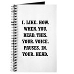 Voice Pause Journal