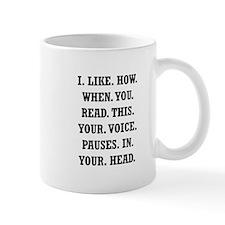 Voice Pause Small Mug