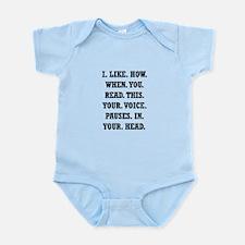 Voice Pause Infant Bodysuit