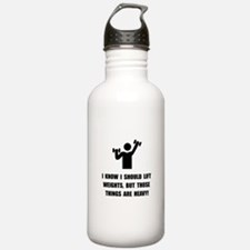 Weights Are Heavy Water Bottle