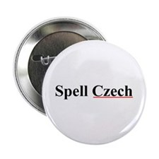"Spell Czech 2.25"" Button"