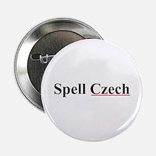 """Spell Czech 2.25"""" Button"""