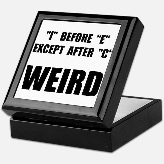 Weird Spelling Keepsake Box