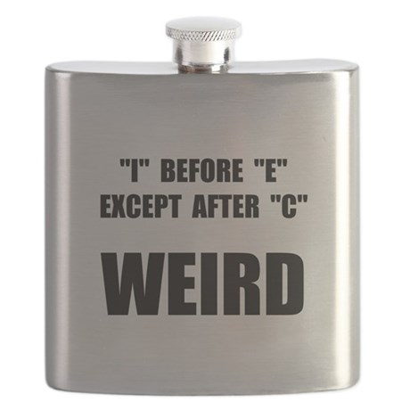 Weird Spelling Flask