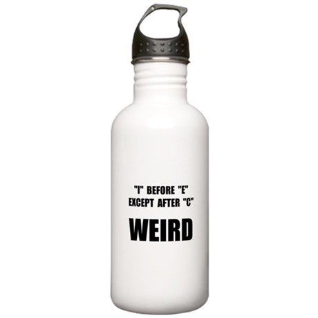 Weird Spelling Stainless Water Bottle 1.0L