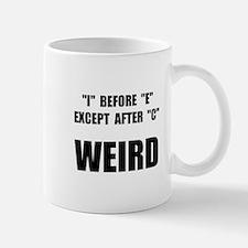 Weird Spelling Small Small Mug