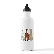 Alpaca (no text) Water Bottle